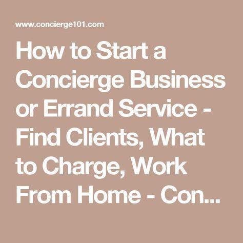 Cómo iniciar un servicio de conserjería o empresa de conserjería – Encuentre clientes, qué cobrar …   – Budget… hmmm