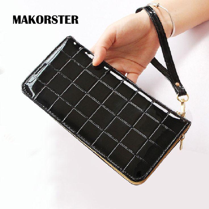 $4.74 (Buy here: https://alitems.com/g/1e8d114494ebda23ff8b16525dc3e8/?i=5&ulp=https%3A%2F%2Fwww.aliexpress.com%2Fitem%2FFashion-Long-Wallet-for-girls-Patent-leather-Wallet-women-purse-luxury-brand-wallet-female-Zipper-ladies%2F32756109192.html ) Fashion Long Wallet for girls Patent leather Wallet women purse luxury brand wallet female Zipper ladies clutch XH281 for just $4.74
