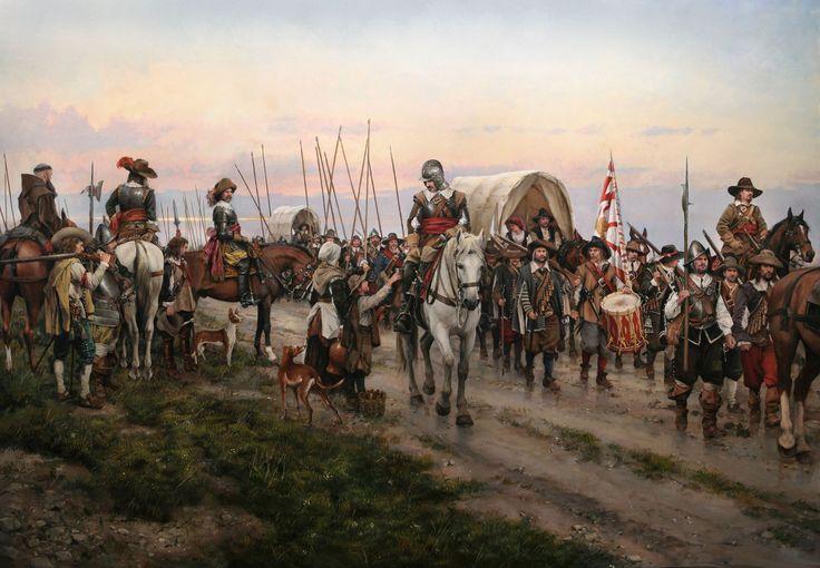 Recopilación de cuadros históricos del maestro Augusto Ferrer-Dalmau - ForoCoches