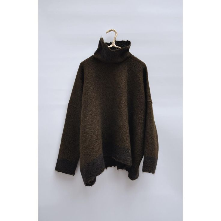 Amy Revier - New Mohair Jumper in Olive. #Hostem #Amyrevier @amyrevier #HostemYH