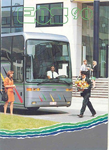 1993 EOS 90 Tour Bus Sales Brochure Belgium