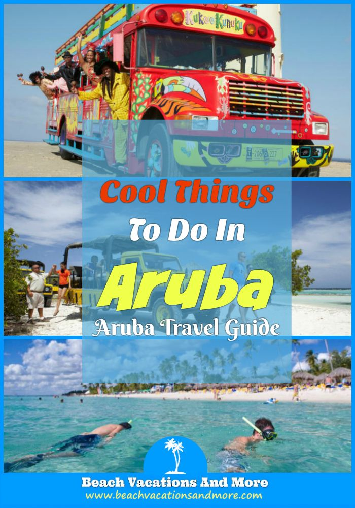 Top fun things to do in Aruba include - Scuba Diving, Snorkeling, Atlantis Submarine, cruises, horseback rides, ATV, nightlife and other activities