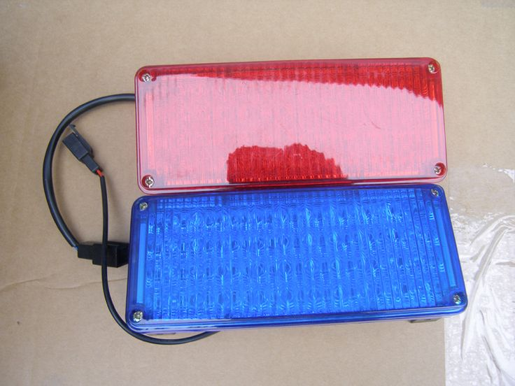 TG-WG01  truck  led red and blue  flashing warning lights strobe light Fog lights taillights