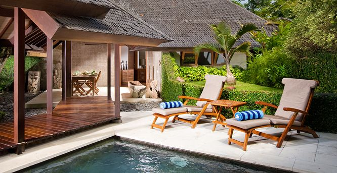 Villa Bali Bali Cottage: 3 bedroom, sleeps 4 adults, 1 child Only a 15 minute drive to Seminyak and close to the beach 4m x 3m swimming pool Lush gardens surrounded by vast rice fields Can only be booked in conjunction with Bali Bali One (3 bedroom) or Bali Bali Two (2 bedroom) Villas