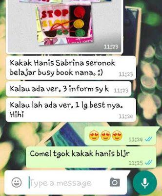 NANA Busy Book