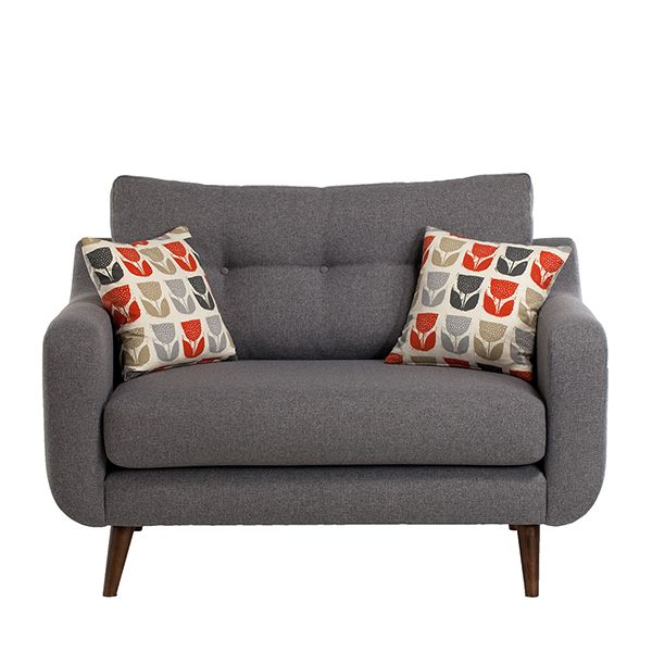 Living room snuggle chair.