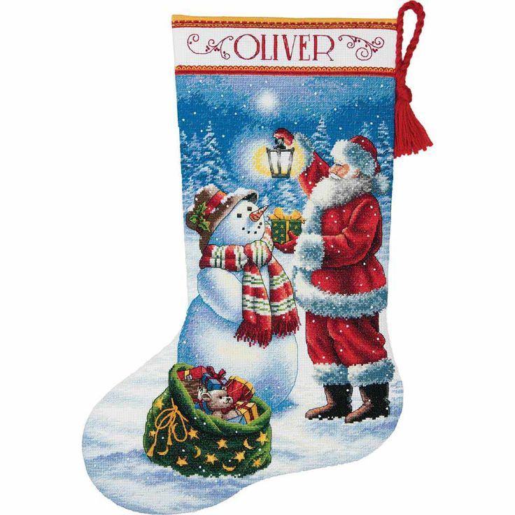 dimensions, gold, counted cross stitch kits, cross stitch kits, stockings