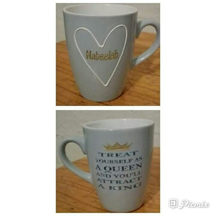 Personalised Sandblasted Mugs visit our Facebook page  https://m.facebook.com/fancyglassandmirror/