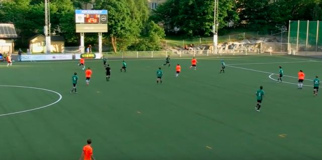 An incredible golazo from Kransen Uniteds Jesper Hellgren in the Swedish fifth tier (Video)