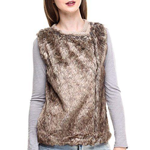 (プーフ) Poof レディース トップス タンクトップ front faux fur diagonal zip vest 並行輸入品  新品【取り寄せ商品のため、お届けまでに2週間前後かかります。】 カラー:ブラウン 素材:Fauxfur: 68% Polyester, 32% Modacryli 詳細は http://brand-tsuhan.com/product/%e3%83%97%e3%83%bc%e3%83%95-poof-%e3%83%ac%e3%83%87%e3%82%a3%e3%83%bc%e3%82%b9-%e3%83%88%e3%83%83%e3%83%97%e3%82%b9-%e3%82%bf%e3%83%b3%e3%82%af%e3%83%88%e3%83%83%e3%83%97-front-faux-fur-diagonal-zip/