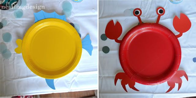 Beach Ball Pool Party! Cute plates! Such a great way to turn something cheap and ordinary into something really fun and special!