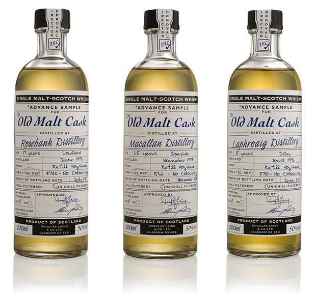The Old Malt Cask 20cL Samples