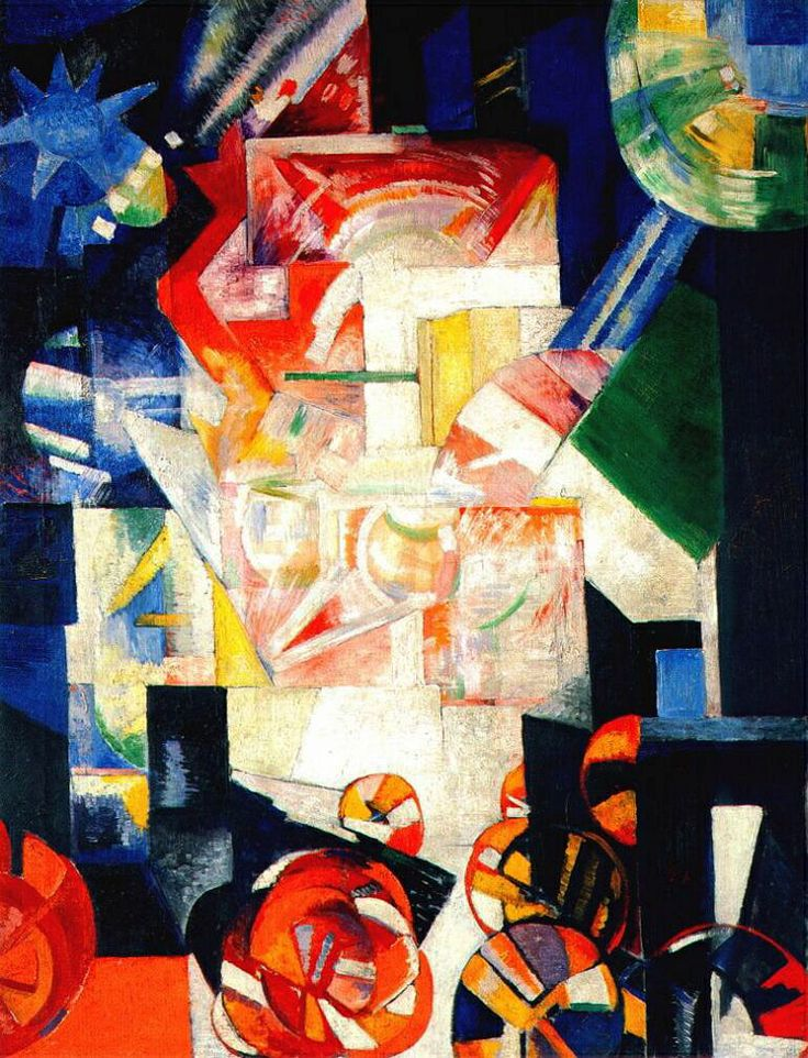 Alexandra Ekster - Compositie, 1914