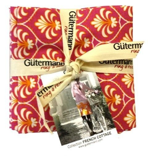 Gütermann Fat Quarter*ring a roses* - FENCH COTTAGE