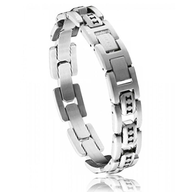 Bracelet decode acier Police - Police