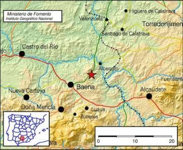 Tres leves terremotos sacuden Málaga y Córdoba