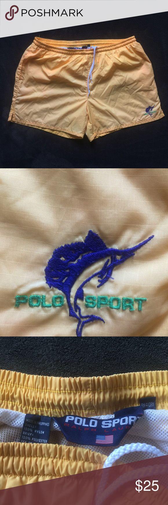 Polo Sport Ralph Lauren Swim Shorts XL New Dead Stock pet free smoke free great look Polo by Ralph Lauren Shorts Athletic