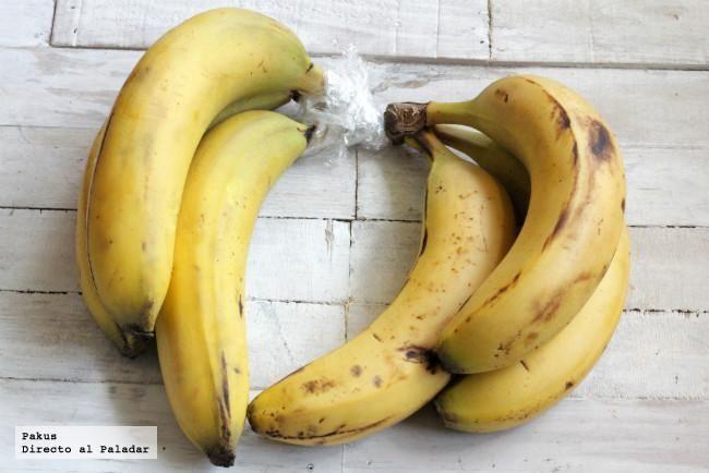 Truco para conseguir que los plátanos maduren más despacio y no se pongan negros. Cómo proteger los plátanos de la maduración con fotos y...