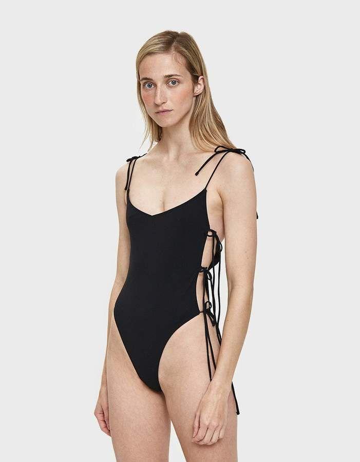5d2b791bea020a Ack Tintarella Side Tie Swimsuit #Tintarella#Ack#Side | Swimsuits in ...