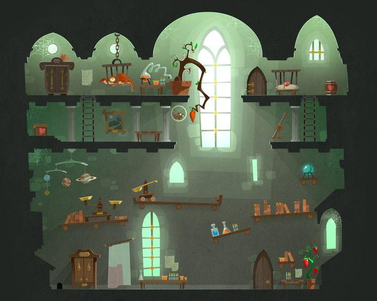 Tiny Thief BG, Cyril Corallo on ArtStation at https://www.artstation.com/artwork/tiny-thief-bg