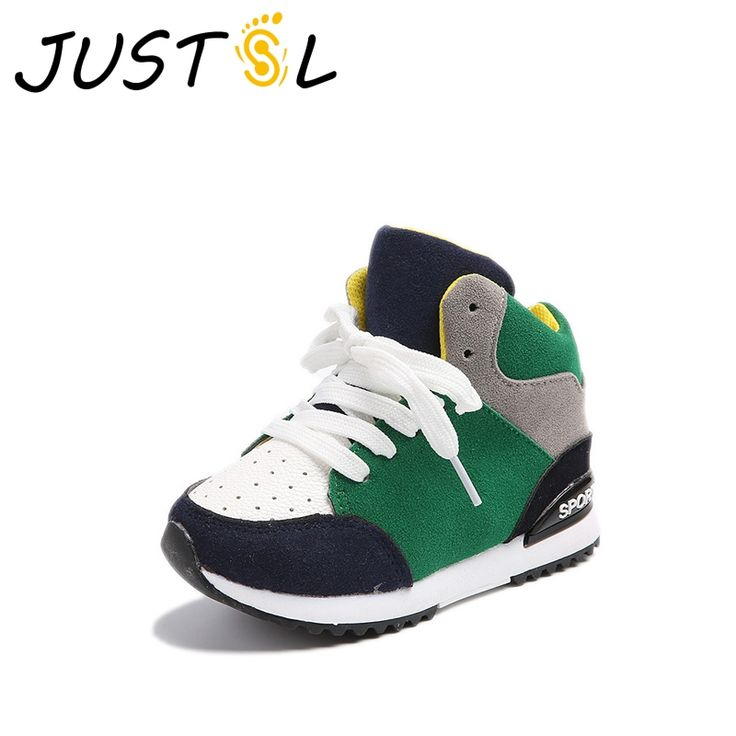 Awesome JUSTSL 2017 Fall children's sports shoes boy breathable fashion sneakers girls non-slip casual shoes kids running shoes - $ - Buy it Now!