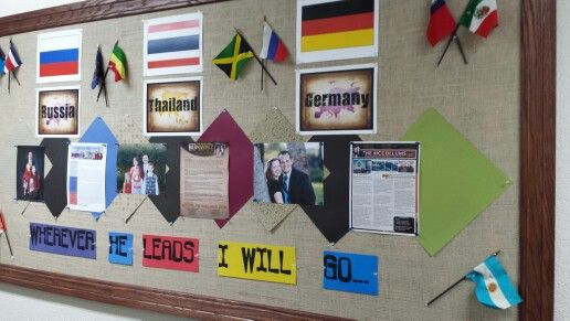 Classroom Unity Ideas ~ Best ideas about missions bulletin board on pinterest