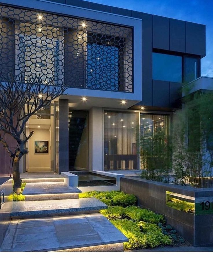 Modern Contemporaryhome Exterior Design: 2,040 Me Gusta, 4 Comentarios