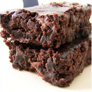 Vegan chocolate brownies Found it on Edamam! See this recipe and more on edamam.com or download the app for iPad or Android!