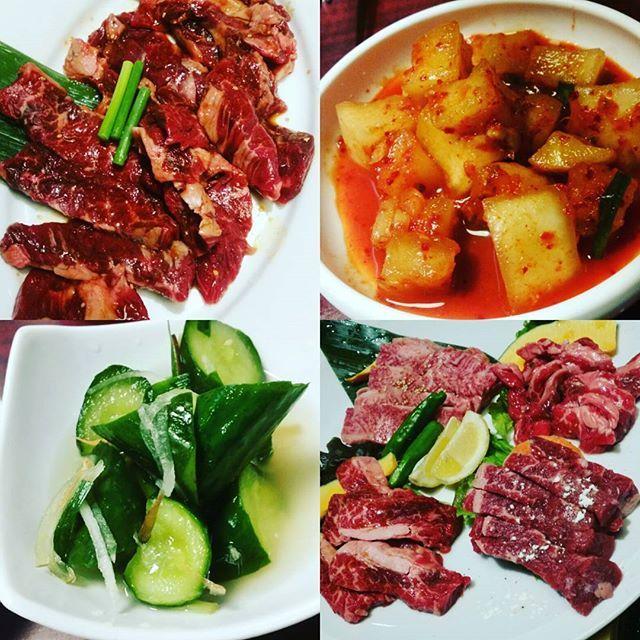 肉、喰らいたい‼ #肉#焼き肉#食べたい#ビール#ホルモン#カルビ#ロース#カクテキ#オイキムチ#肉食系男子#白飯#恋しい#カルビ王国 #高津区
