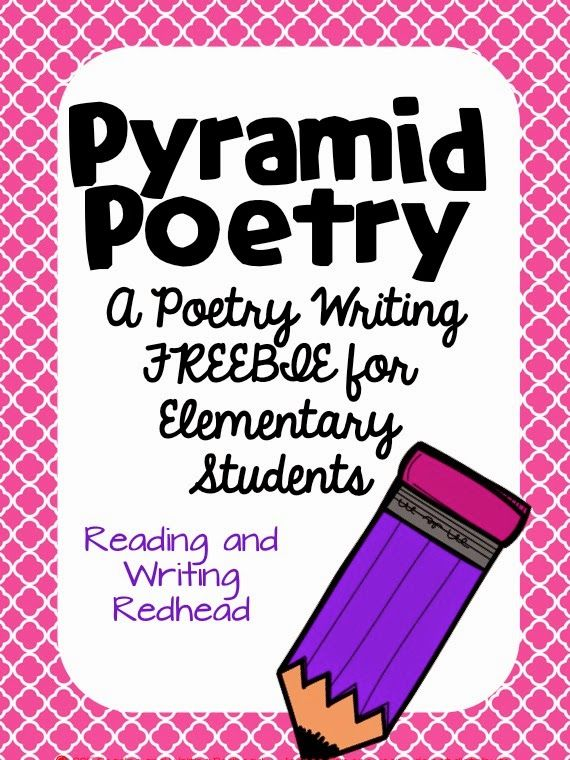 Classroom Freebies Too: Poetry Writing Freebie for Poetry Month