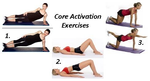 1000 images about core exercises for back pain on