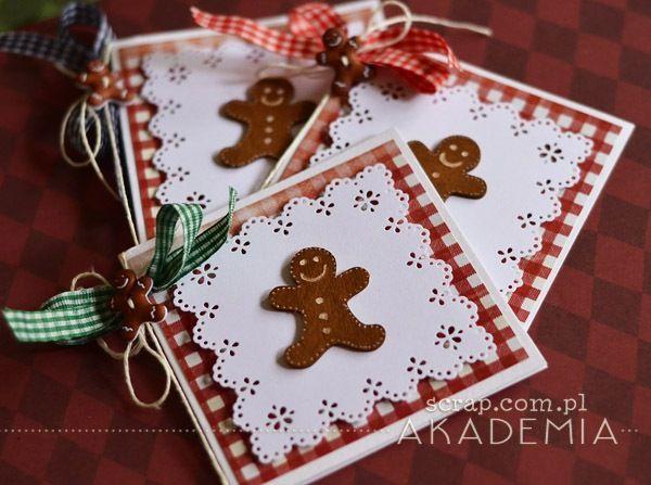 Duże bileciki do prezentów zmieszczą również życzenia świąteczne