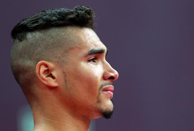 This bad boy of gymnastics gets my vote for originality.  Louis Smith led the Great Britain men's team to a bronze.  They certainly kept calm and carried on.