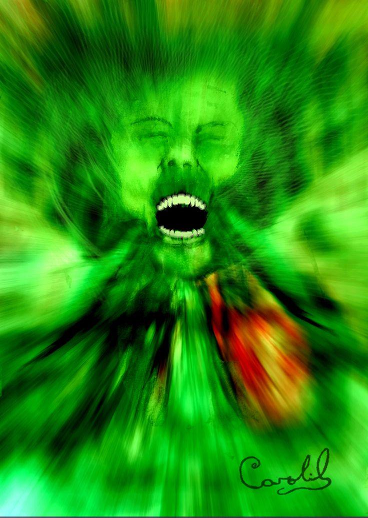 Aquí explicamos brevemente una técnica de Programación Neuro-Lingüística para neutralizar los poderosos sentimientos negativos de miedos y traumas. Ilustración De Carolil Círculo Aleph.