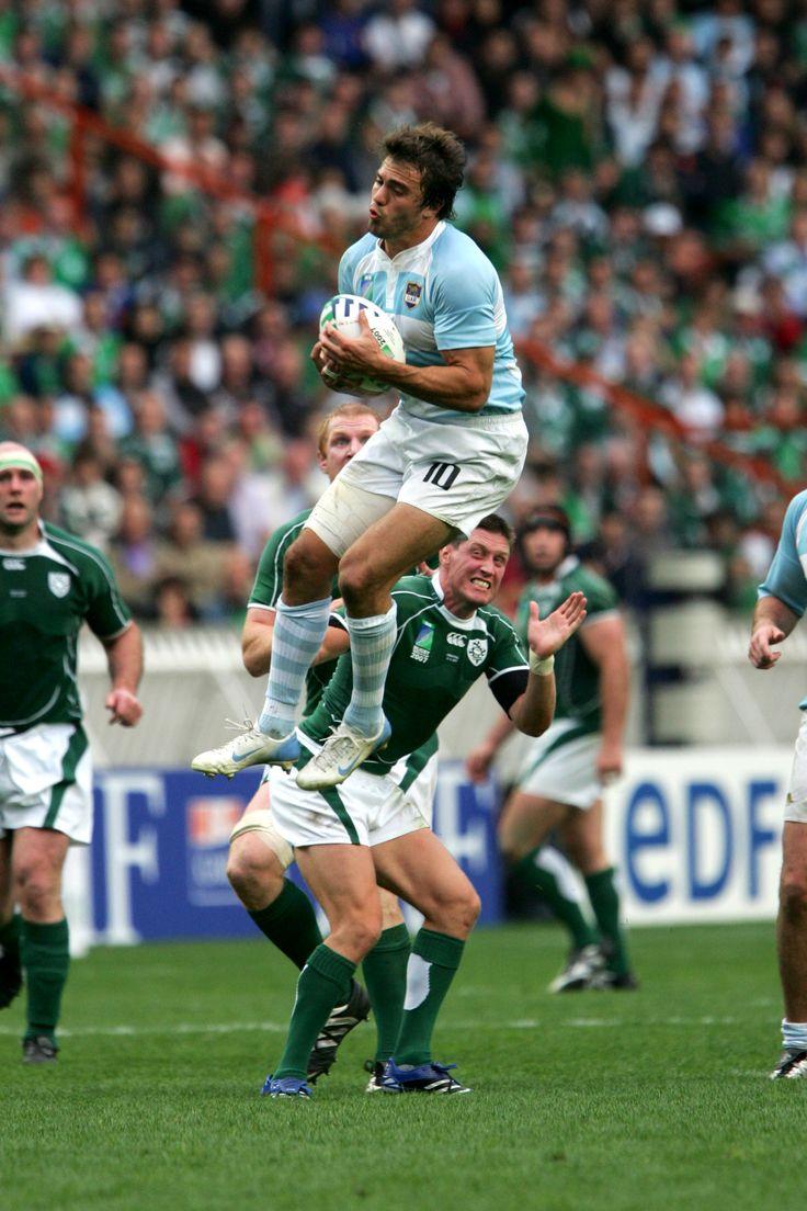 Juan Martín Hernández, jugador profesional de rugby. Integrante del seleccionado argentino, Los Pumas. #Rugby #Pumas