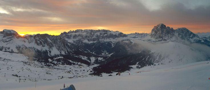 Sunrise in the Dolomites   Seceda www.valgardena.it