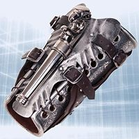 Armored Vambrace with Gun - I wants it :o
