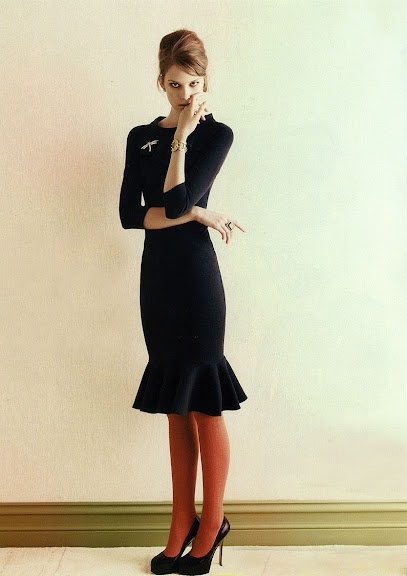 Love: Cute Pin, Black Cocktails, Cocktails Dresses, Hams, Mary Claire, Tights, Little Black Dresses, 60S Style, Fashion Editorial