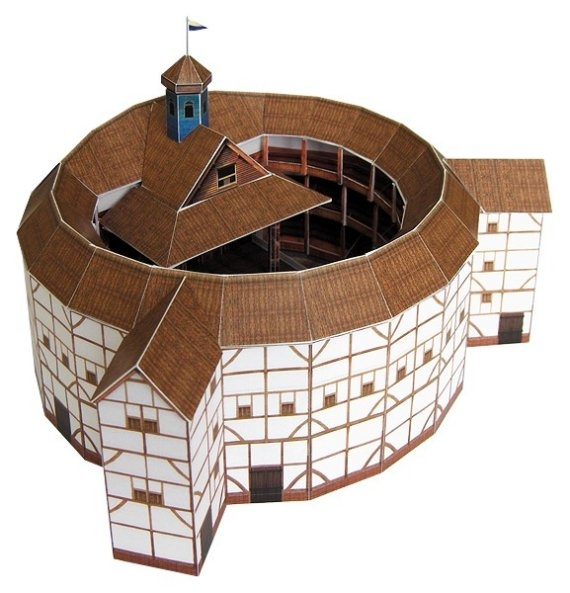 17 best images about globe theater on pinterest for Theatre model