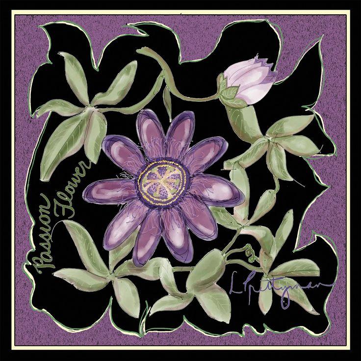Silk Square Scarf - Blissful Flowers by VIDA VIDA QP3zjvNlA5