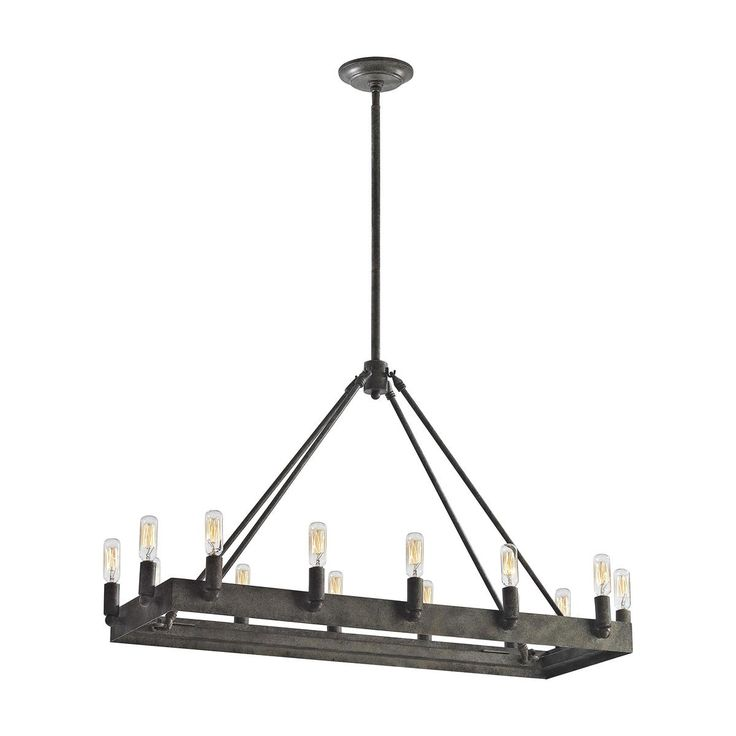 Urban Industrial Island Chandelier