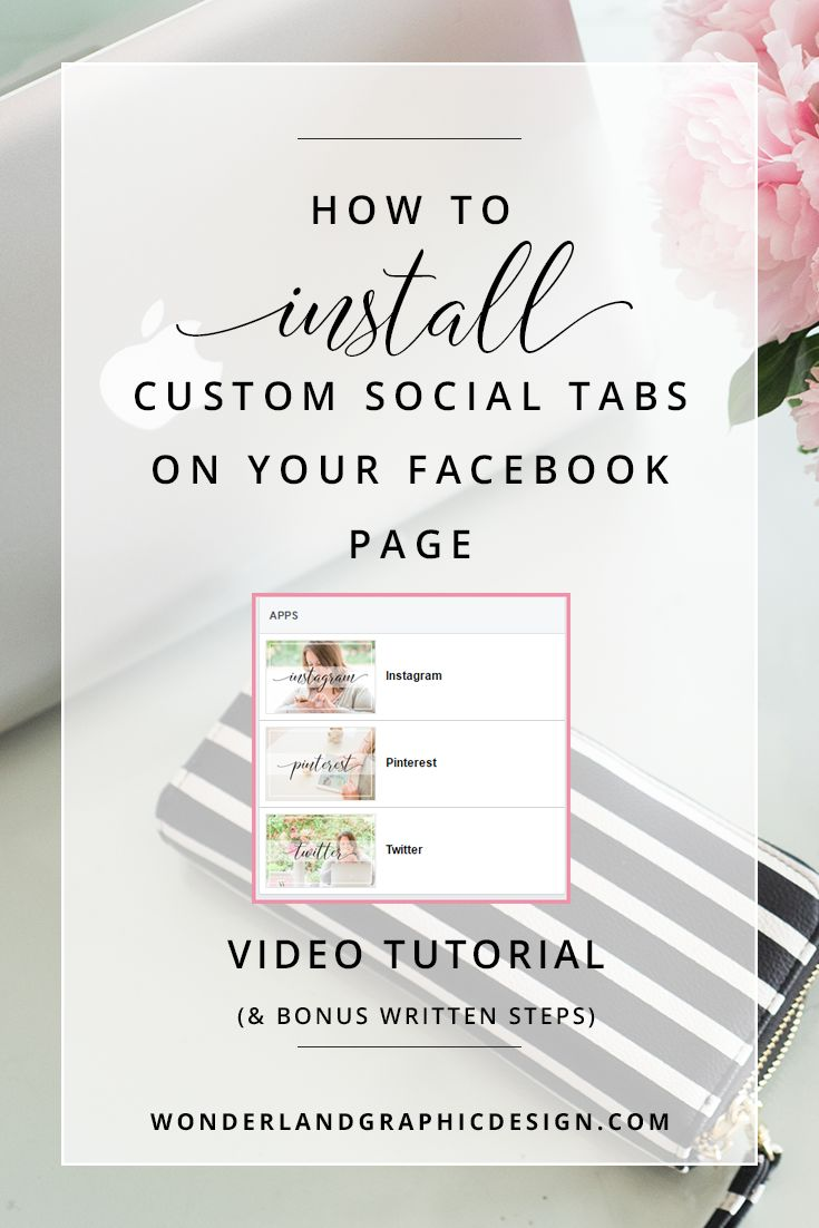 This video tutorial will show you a way to customise your Facebook page to  boost its professionalism and give it cohesion with your own images that  implement your branding.  What are custom social tabs?  Custom social tabs on your Facebook page are image buttons in the apps tab  with links to your other social media platforms.     Why do I need them?  Installing custom social buttons on your Facebook page is a must if you  want to brand your social platforms. Not only can people find y...