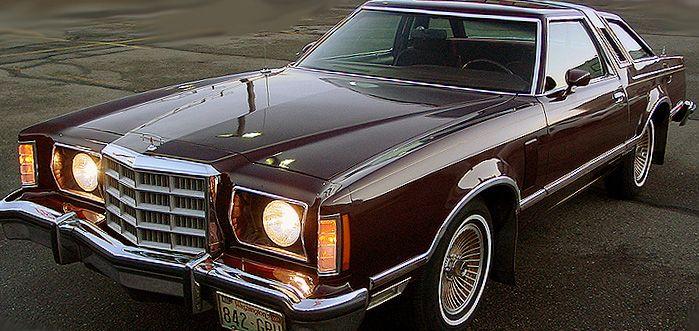 car  ford thunderbird  party wagon