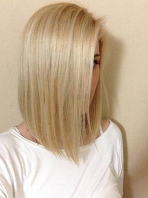 Long bob for thin hair by MyohoDane