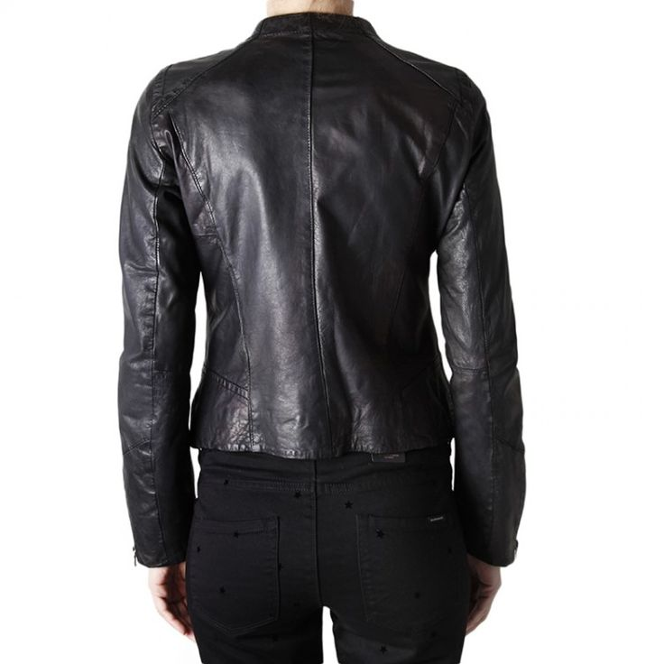 Bossini Δερμάτινο Jacket | John-Andy.com