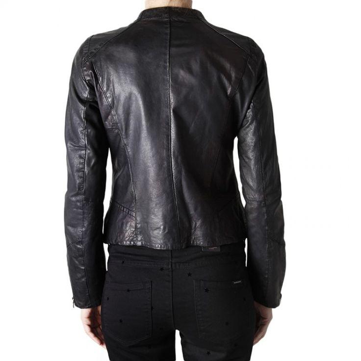 Bossini Δερμάτινο Jacket   John-Andy.com