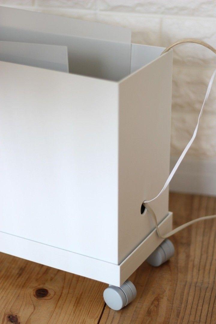 大人気 無印良品の キャスターもつけられるフタ を使ってみた ほうき収納 インテリア 収納 収納 アイデア