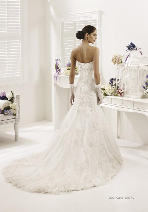 Collezione abiti da sposa #Colet 2013, abito da #sposa COAB13297IV