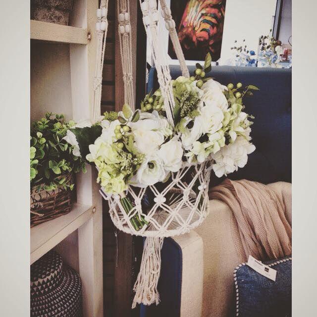 Crochet hanging plant holders @dcb_designs #homewares #home #crochet #plantholder #hangingplantholder #housewarminggift #flowers #dcbdesigns