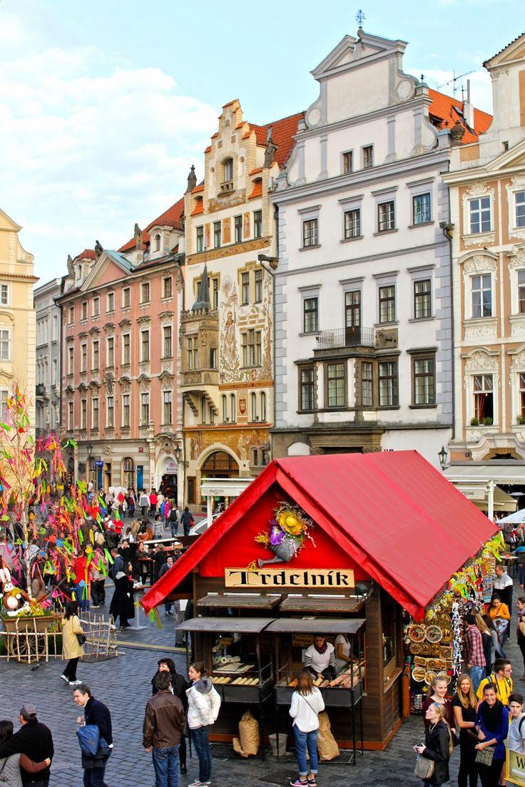 Prague's Old Town Square  Czech Republic  by- Adelante